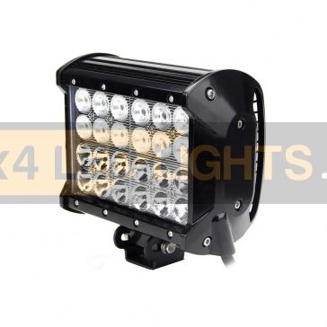 72W-os, 24 LED-es, 4 soros ledsor