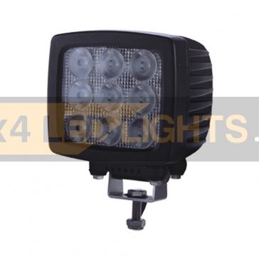 90W-os, 9 LED-es munkalámpa, kiegészítő lámpa