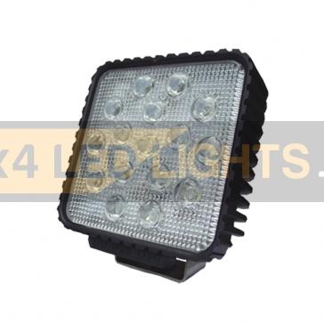 48W-os, 16 LED-es munkalámpa, kiegészítő lámpa