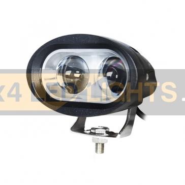 20W-os, 2 LED-es, 4D lencsés fényszóró, munkalámpa