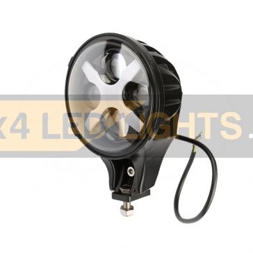 60W-os, 12 LED-es, 4D lencsés kiegészítő fényszóró
