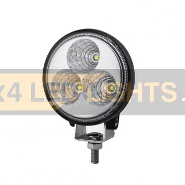 9W-os, 3 LED-es munkalámpa, kiegészítő lámpa