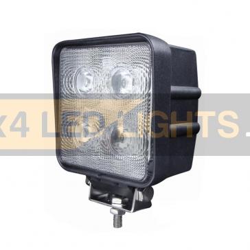 40W-os, 4 LED-es munkalámpa, kiegészítő lámpa