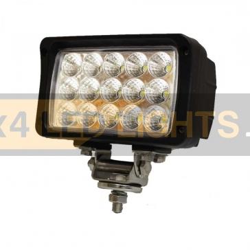 45W-os, 15 LED-es munkalámpa, kiegészítő lámpa