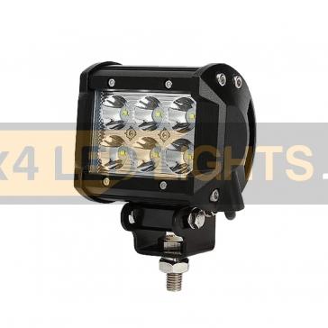 18W-os, 6 LED-es ledsor