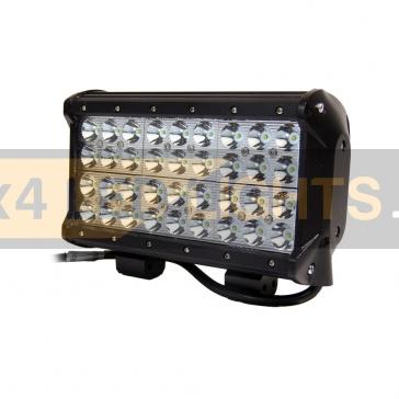 108W-os, 36 LED-es, 4 soros ledsor