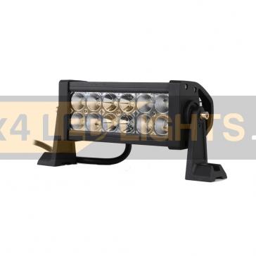 36W-os, 12 LED-es sárga/fehér ledsor
