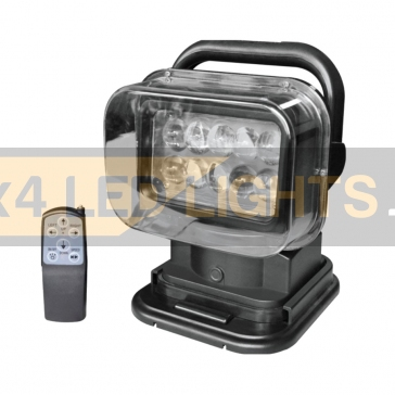 50W-os, 10 LED-es távirányítható keresőlámpa