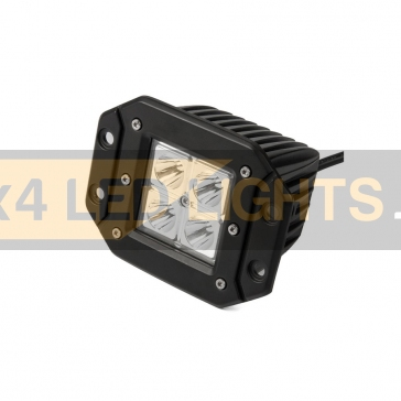 16W-os, 4 LED-es munkalámpa, kiegészítő lámpa, lökhárítóba szerelhető