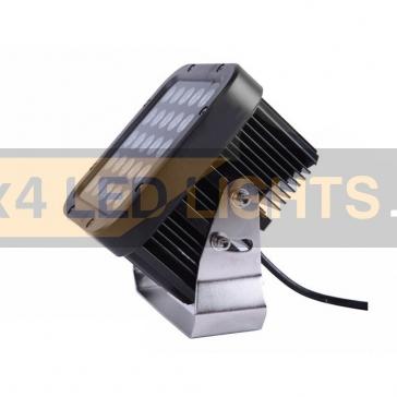 75W-os, 25 LED-es fényszóró, munkalámpa