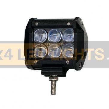 30W-os, 6 LED-es, 4D lencsés ledsor