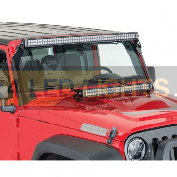 "Jeep Wrangler lámpa tartó konzol 50"""