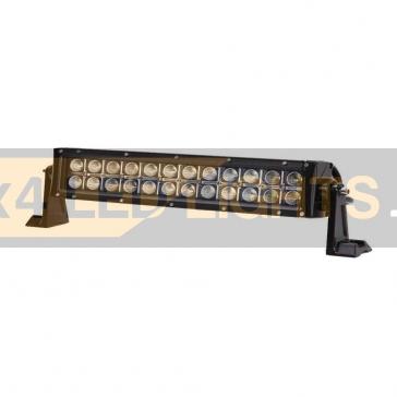 72W-os, 24 LED-es sárga/fehér ledsor