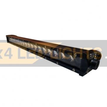 180W-os, 36 LED-es, 4D lencsés alacsony profilú ledsor