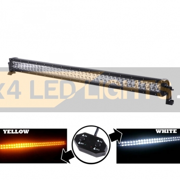 240W-os, 80 LED-es sárga/fehér ledsor