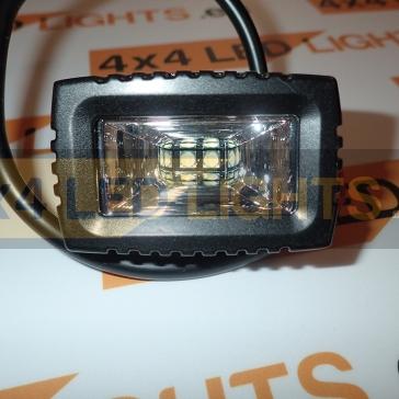10W-os, 2 LED-es munkalámpa, kiegészítő lámpa