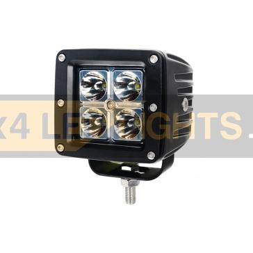 16W-os, 4 LED-es munkalámpa, kiegészítő lámpa