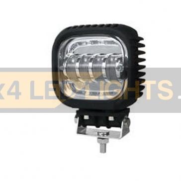 40W-os, 4 LED-es fényszóró, munkalámpa