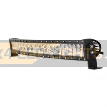 Hajlított 164W-os, 36 LED-es Hybrid ledsor