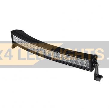 Hajlított 120W-os, 40 LED-es ledsor