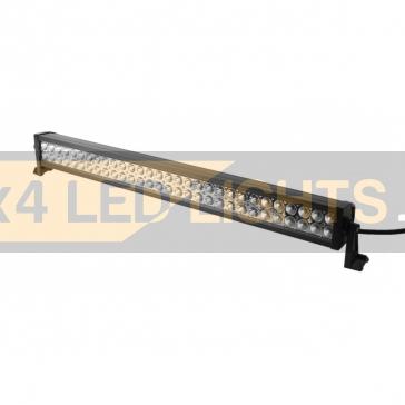 180W-os, 60 LED-es sárga/fehér ledsor