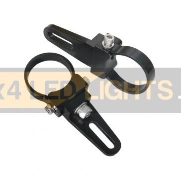 """Led lámpa aluminium csőkonzol 2,5"""" (1 pár)"""