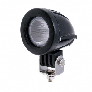 10W-os, 1 LED-es kerek fényszóró, munkalámpa, kiegészítő lámpa, kerek
