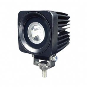 10W-os, 1 LED-es munkalámpa, kiegészítő lámpa