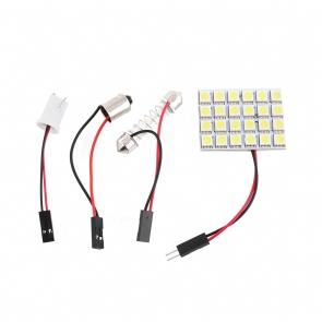 Ledes belső világítás T10, BA9s adapterrel