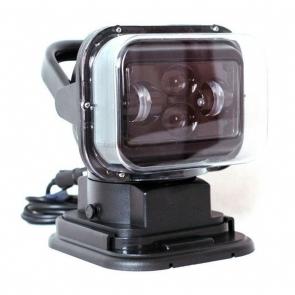 60W-os, 12 LED-es távirányítható keresőlámpa