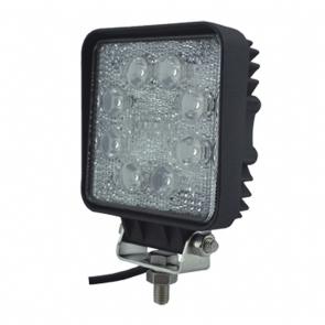24W-os, 8 LED-es munkalámpa, kiegészítő lámpa