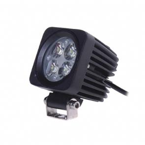 12W-os, 4 LED-es munkalámpa, kiegészítő lámpa