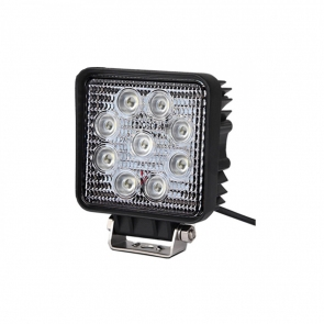 27W-os, 9 LED-es munkalámpa, kiegészítő lámpa