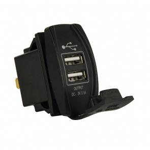 USB aljzat 12-24V, kapcsoló helyére (3.1A)