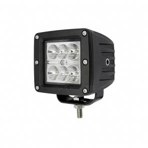 18W-os, 6 LED-es fényszóró, munkalámpa