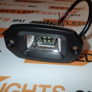 10W-os, 2 LED-es munkalámpa, kiegészítő lámpa, lökhárítóba szerelhető