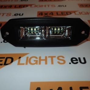 20W-os, 4 LED-es munkalámpa, kiegészítő lámpa, lökhárítóba szerelhető