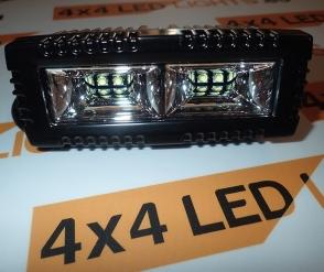 20W-os, 4 LED-es munkalámpa, kiegészítő lámpa