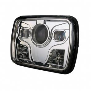 """80W-os, 5""""x7""""-os Jeep fényszóró"""